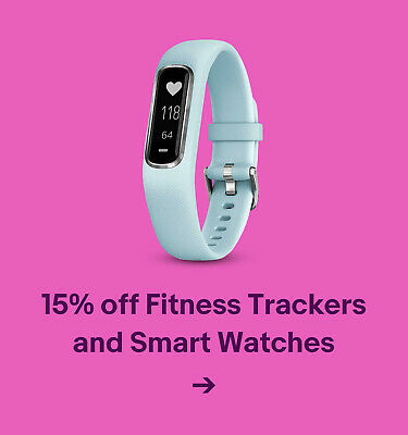 15% off Fitness Trackers and Smart Watches