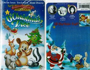 image is loading o christmas tree vhs video tape new christmas - Christmas Classic