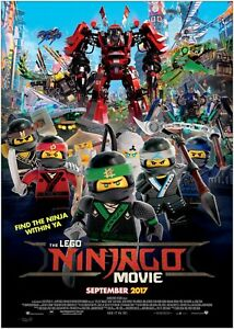 A0 A1 A2 A3 A4 Sizes Available Lego Ninjago Giant Poster Art Print