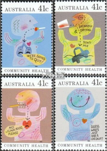 Australia 11931196 complete.issue. unmounted mint never hinged 1990 Health