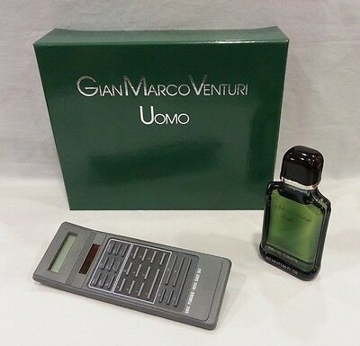 GIAN MARCO VENTURI UOMO MAN HOMME EAU DE TOILETTE SPLASH 50 ML.+ CALCOLATRICE   eBay