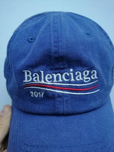 Balenciaga 2017 Cap Baseball Hat Blue