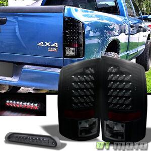 Image Is Loading Black Smoked 02 06 Dodge Ram 1500 03