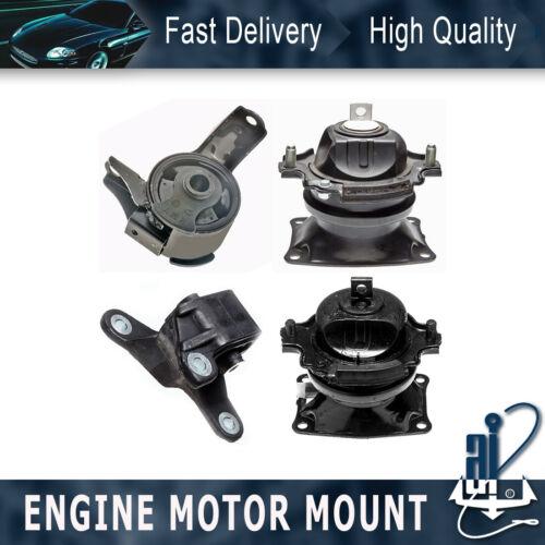 4PCS Anchor-Engine Auto Trans Mount Kit For 2011-2016 HONDA ODYSSEY 3.5L 6 Speed