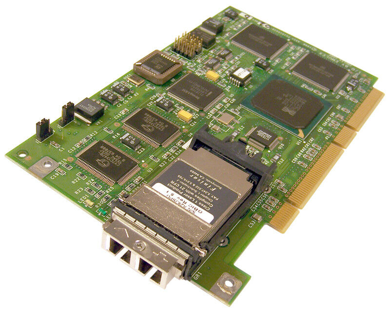IBM FC1020017-07 PCI 64-bit Con Gbic Adattatore 18P1456 FC1010739-00 Hba Scheda