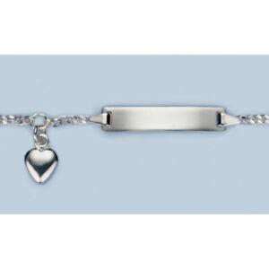Honig Id-bändchen Gravur Herz Silber 925/- 5.56069-75-16cm Gutes Renommee Auf Der Ganzen Welt