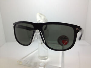 bcefe15746 AUTHENTIC RAYBAN RB 4147 601 58 RAY BAN RB4147 60158 GLOSSY BLACK ...