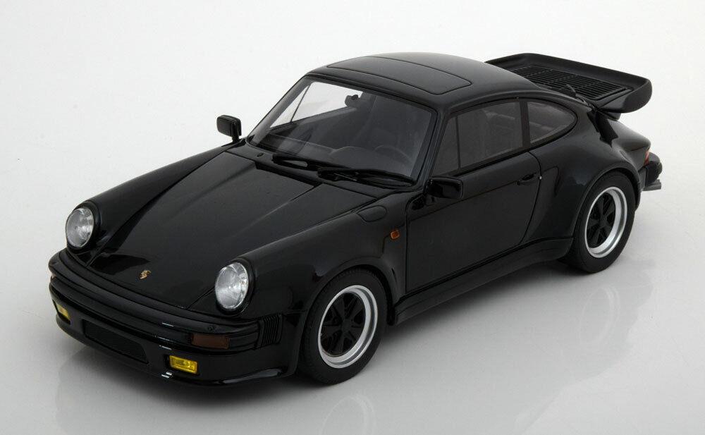 1 18 GT Spirit Porsche 911 (930) Turbo S nero