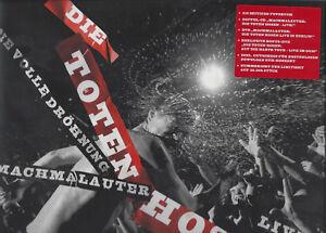 DIE-TOTEN-HOSEN-034-Machmalauter-Live-Die-Volle-Droehnung-034-Limited-Book-Buch-ss