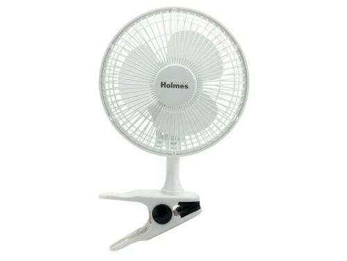 Holmes Clip Fan HCF0667 6/' Inch with 2 Speed Settings White