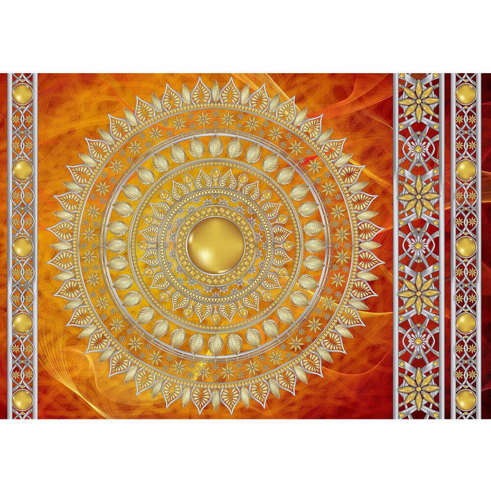 Photo Wall Paper Mandala Star Beads Liwwing No. 3232