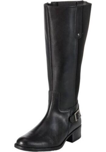 41 bis 44 schwarz NEU Sheego Leder XL Weitschaftstiefel Stiefel Gr 041
