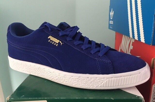 Puma Suede Mazarine Classic Debossed q3 Daim Bleu Nouveau gr:45 Mazarine Suede Blue Sneaker 8ebe1c