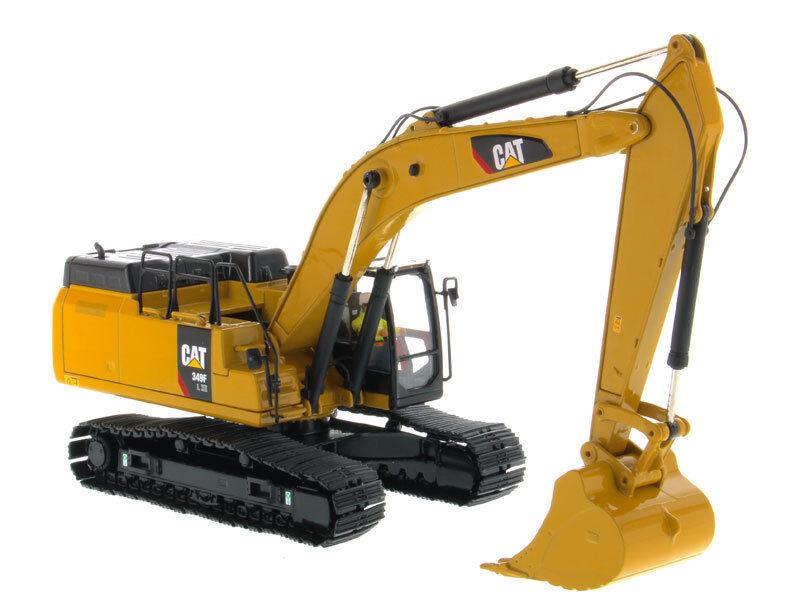 M Cat 349 F 1 50 DIECAST onstruction véhicule DL XE Excavateur hydraulique High Line