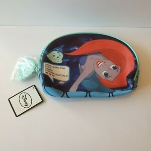 Disney-Primark-Ariel-The-Little-Mermaid-Makeup-Bag-amp-Mirror-New-With-Tags