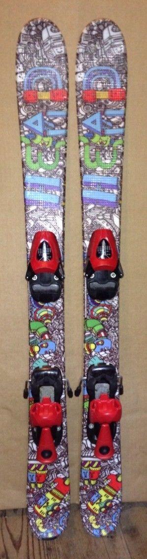 Head Mojo junior twintip skis with bindings, 97 107 117 cm available