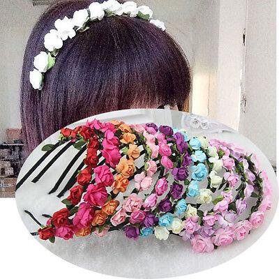 Popular Lady Beach Hair Band Style Flower Headband Hair Hoop Jewelry Accessories