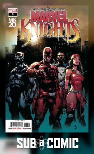 MARVEL 2019 1st Print COMIC MARVEL KNIGHTS 20TH #6