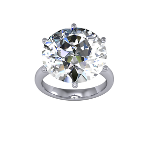 10ct-Stunning-Natural-Round-Solitaire-Huge-Diamond-Engagement-Ring-SI1-I-GIA