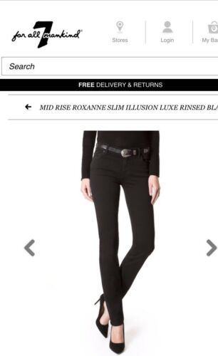 Without 26 Skinny rrp Out Waist £190 Mankind Sold Tag 7 Jeans New wHqvnt