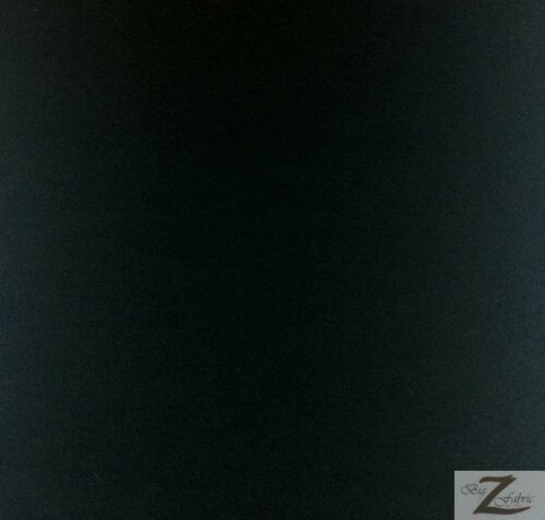 """SOLID//PLAIN 100/% COTTON FABRIC-Black SOLD BTY 58/""""//60/"""" WIDTH C455"""