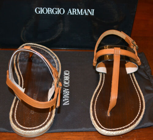 string sandalen Nib 36 Giorgio 5 Eu Armani 6 5295 laklederen ons UqzpLSMVG