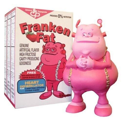 Franken Fat Cereal Killers by Ron English Designer 8.5 8.5 8.5  Vinyl Figure 5ffa5f