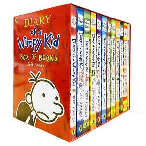 Diary-of-a-Wimpy-Kid-Classic-Reading-Collection-by-Jeff-Kinney-12-Books-Box-Set