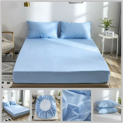 Anti-Fouling Bed Mattress Cover Smooth Waterproof Mattress Cover Anti Mites Mat