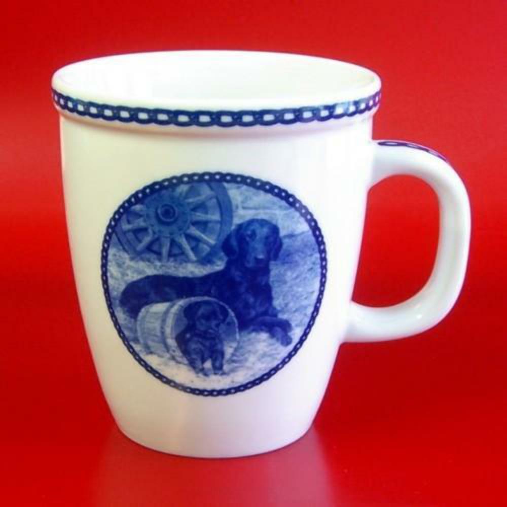 Flat-Coated Retriever - Porcelain Mug made in Denmark