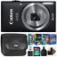 Canon-PowerShot-IXUS-185-Elph-180-fotocamera-20MP-Nero-con-kit-per-la-modifica-di-foto miniatura 1