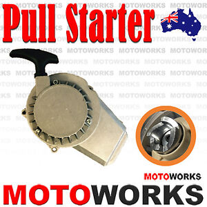 PULL-START-STARTER-ALLOY-POCKET-BIKE-MINI-DIRT-ATV-QUAD-43-49CC-2-STROKE-Engine