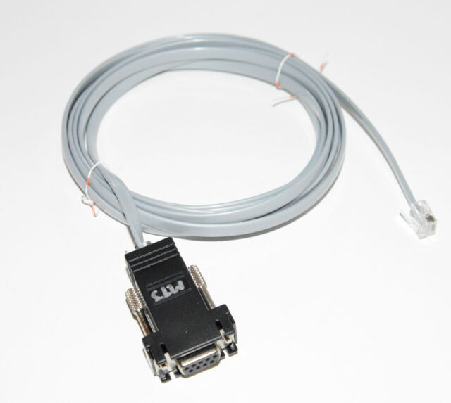 METTLER-TOLEDO PARCEL SCALE 7ft SERIAL CABLE RJ12-DB9 16317400A PS15 PS30 PS60