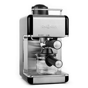 espressokocher edelstahl design espressomaschine kaffee espresso maschine blk ebay. Black Bedroom Furniture Sets. Home Design Ideas