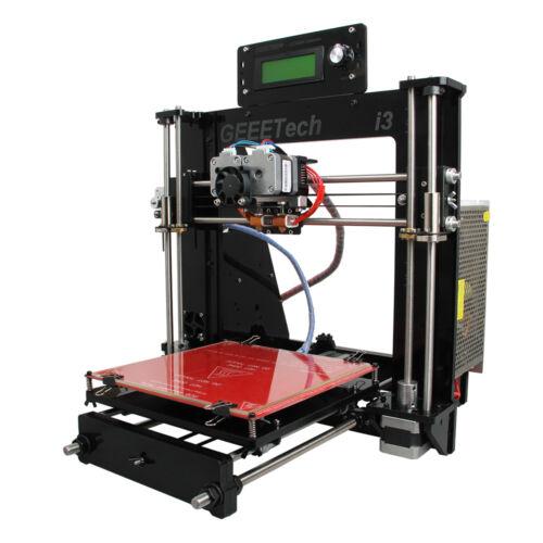 Geeetech Acrylic Prusa I3 Dual extruder MK8 All Metal Part 3D Printer LCD2004