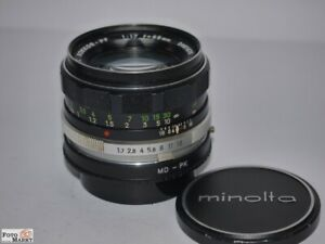 Minolta-MC-Rokkor-PF-Objektiv-1-7-55mm-an-Pentax-K-Bajonett-analog-digital
