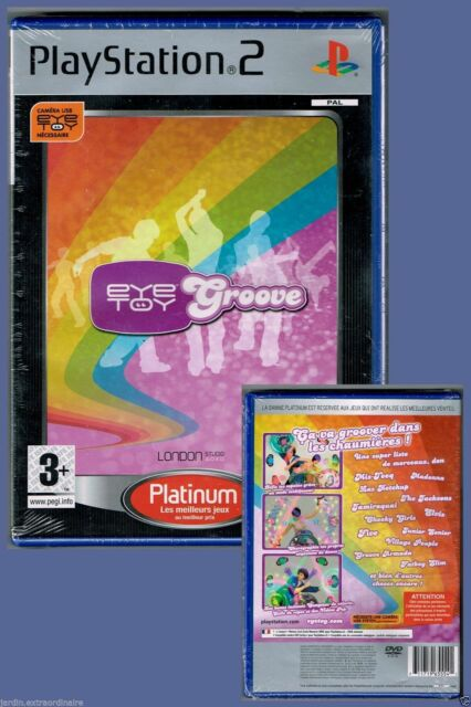 Eyetoy Groove - Platinum - 2008 - Dès 3 ans - Neuf sous blister.