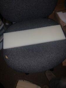"NATURAL NYLON BAR machinable plastic flat sheet stock 1 1//2/"" x 2/"" x 11/"" OAL"