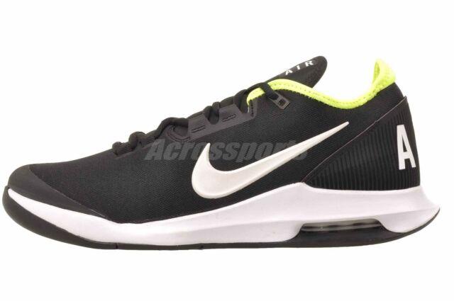 Nike Air Max Wildcard HC Mens Tennis Shoes Black White Volt AO7351-007