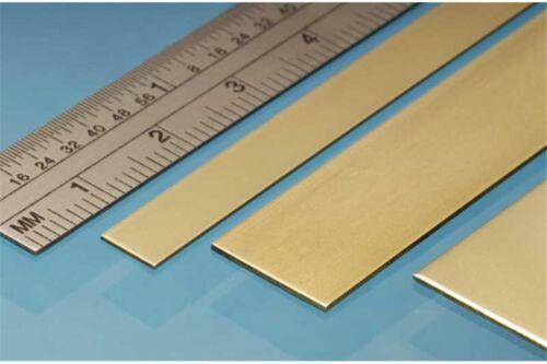 ALBION ALLOYS BS9M Laiton Brass Strip 25 x 0.8 mm 3p.