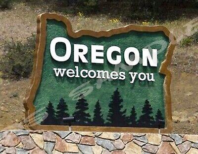 OKLAHOMA Travel Souvenir Flexible Fridge MAGNET WELCOME SIGN