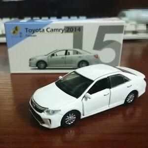 TINY-TW15-TAIWAN-TOYOTA-CAMRY-2014-WHITE-DIECAST-CAR-MODEL152979