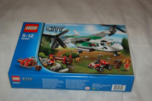 passt zu 60022,60104,60181,60103 LEGO Bau- & Konstruktionsspielzeug LEGO CITY 60021 Schwenkrotor-Flugzeug NEU
