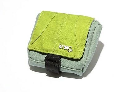 New Knog Camera Computer Accessories Pouch Retail $20 Beer Lime//Teal