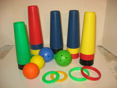 NEW AUTISM /& SPECIAL NEEDS 10 CONES WITH BALL SET