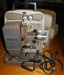 Bell-amp-Howell-Auto-Load-Model-245-PA-8-MM-Projector-Works