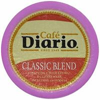 Cafe Diario K-cup Coffee Pods, Classic Blend, 100 Count, New, Free Shipping