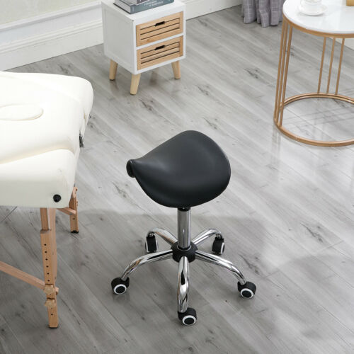 Saddle Stool Rolling Chair For Office Massage Salon Kitchen Spa Drafting USA