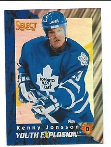 1994-95-Select-Youth-Explosion-KENNY-JONSSON-MAPLE-LEAFS