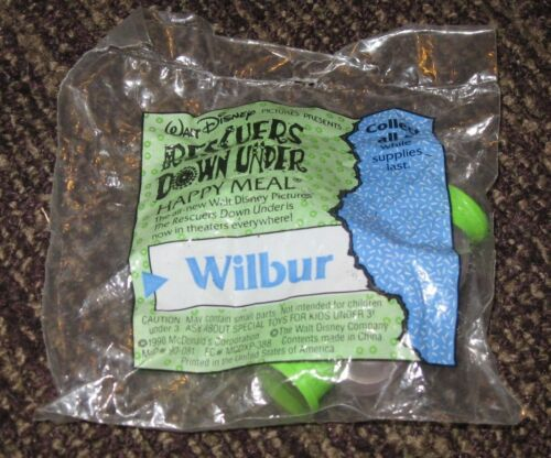 Wilbur 1990 McDonalds Happy Meal Toy Disney/'s Rescuers Down Under